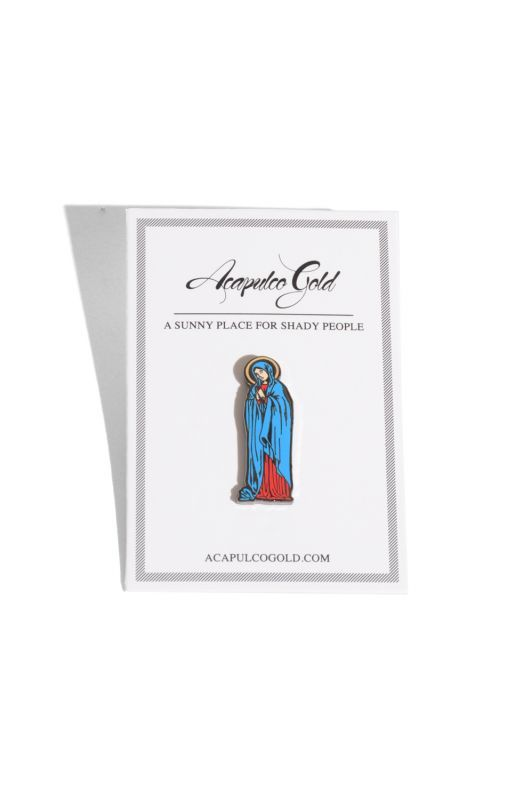 画像1: 【ACAPULCO GOLD】HAIL MARY LAPEL PIN