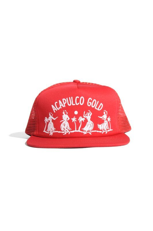 画像3: 【ACAPULCO GOLD】HULA GIRL TRUCKER HAT