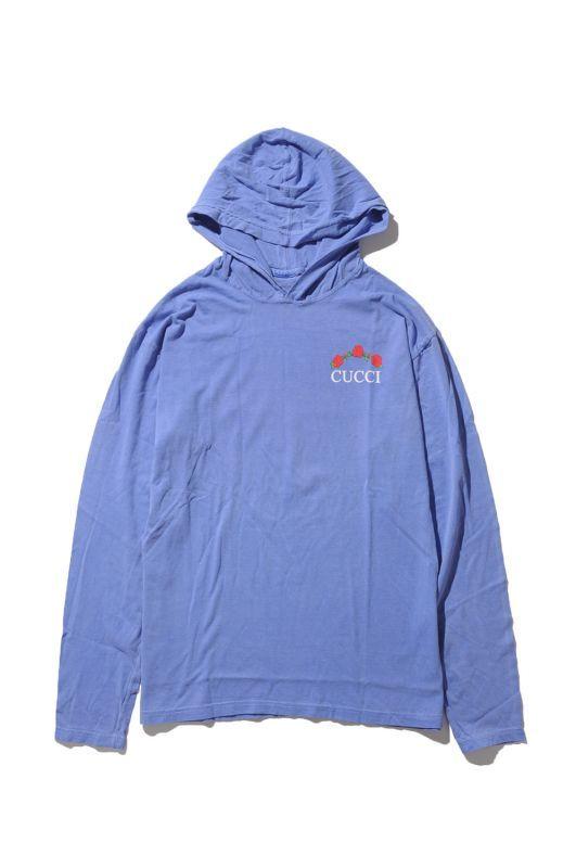 画像1: 【DEADLINE】Cucci T-shirt Hoodie (1)