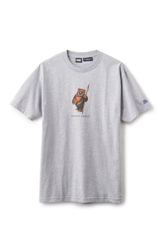 "画像1: 【INTERBREED】STAR WARS™ x INTERBREED ""Wicket SS Tee"" (1)"