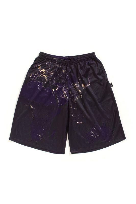 画像1: 【APPLEBUM】Night Earth Basketball Mesh Shorts
