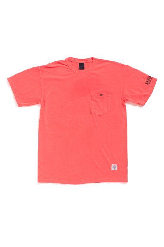 画像1: 【APPLEBUM】Concho Over-Dye Pocket T-shirt