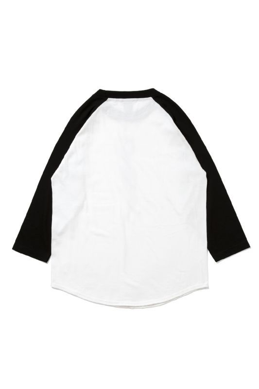 画像2: 【APPLEBUM】Nice Applebum Raglan 3/4 Sleeve T-shirt