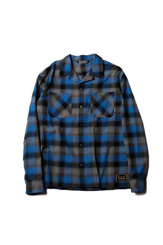 画像1: 【CUTRATE】L/S CHECK SHIRT
