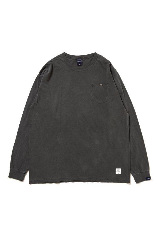 画像1: 【APPLEBUM】Concho Over-Dye Pocket L/S T-shirt