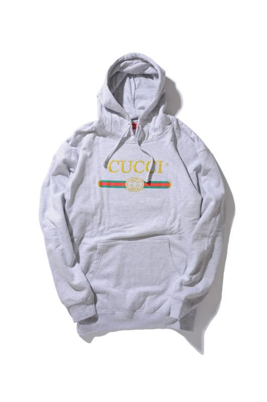 画像2: 【DEADLINE】Cucci Logo pullover Hoodie