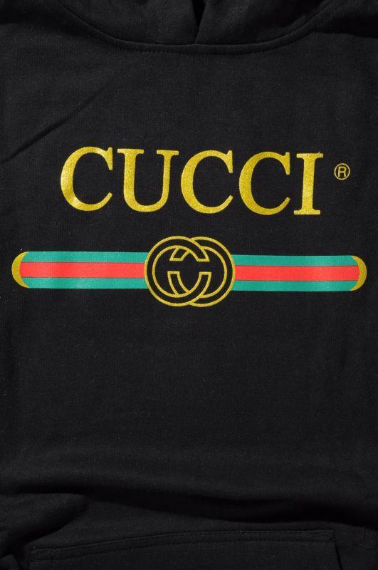 画像3: 【DEADLINE】Cucci Logo pullover Hoodie