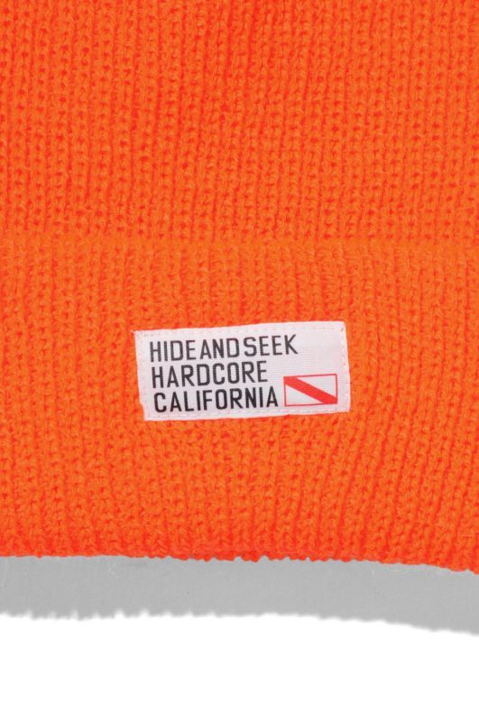 画像3: 【HIDEANDSEEK】TAG Knit CAP