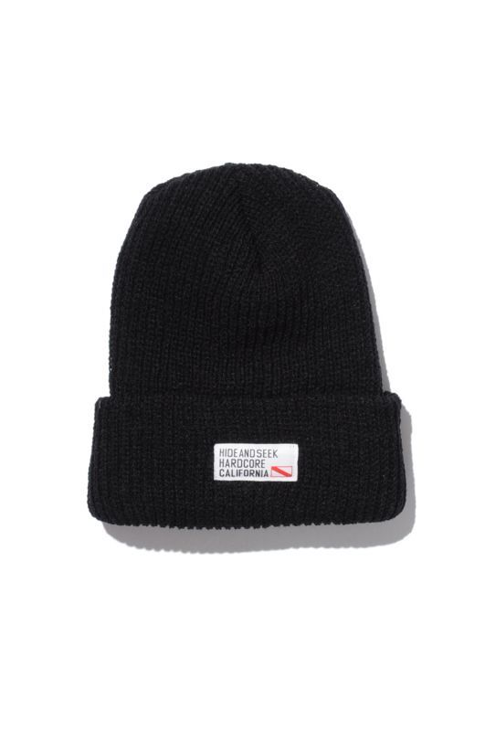 画像2: 【HIDEANDSEEK】TAG Knit CAP
