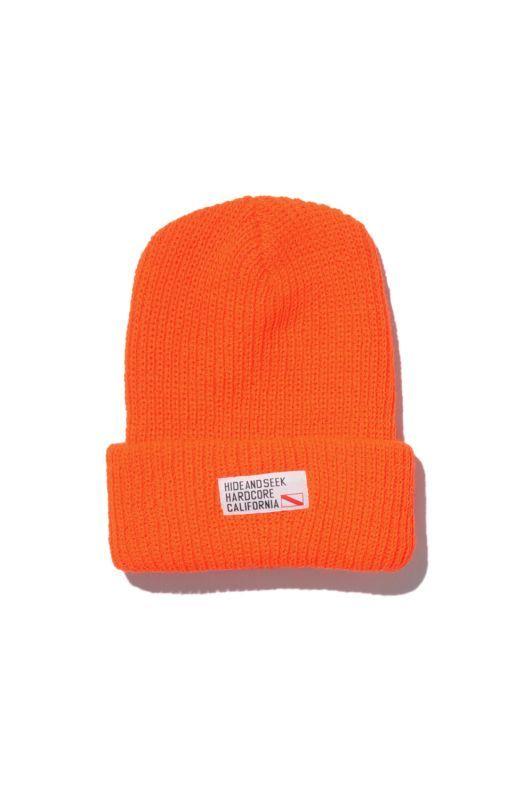 画像1: 【HIDEANDSEEK】TAG Knit CAP
