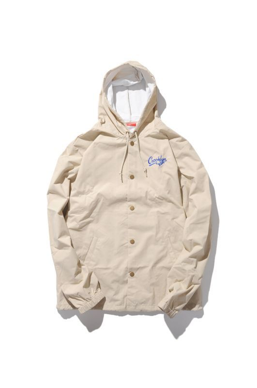 画像1: 【DEADLINE】Crooklyn Hooded Coach Jacket