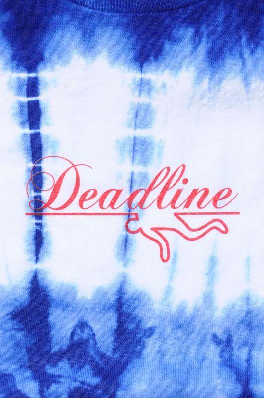画像3: 【DEADLINE】Script Logo Line Tie Dye Tee