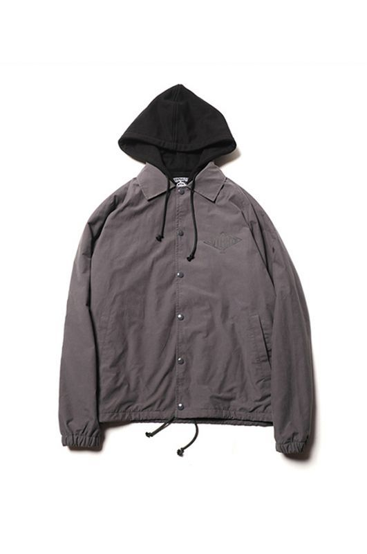 画像1: 【CUTRATE】HOODED COACH JACKET