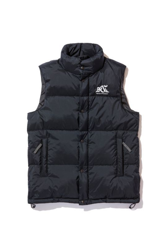 画像1: 【Back Channel】BACKCHANNEL×NANGA DOWN VEST (1)