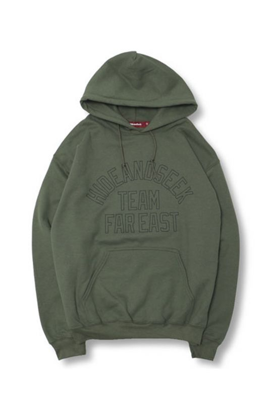 画像2: 【HIDEANDSEEK】TEAM FAR EAST Sweat Parka