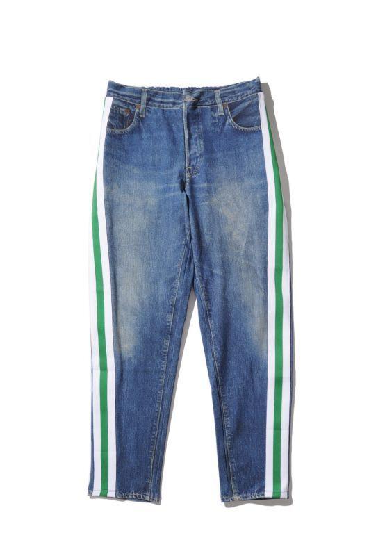 画像1: 【VOTE MAKE NEW CLOTHES】3D DENIM W/LINE(66) (1)