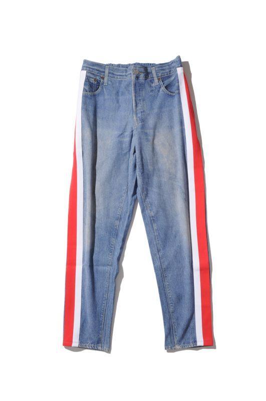 画像1: 【VOTE MAKE NEW CLOTHES】3D DENIM W/LINE(XX) (1)