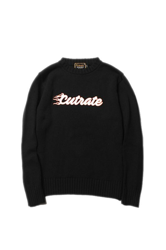 画像1: 【CUTRATE】CREW NECK KNIT SWEATER (1)