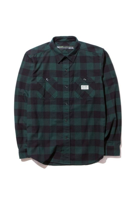 画像1: 【Back Channel】NEL CHECK SHIRT (1)