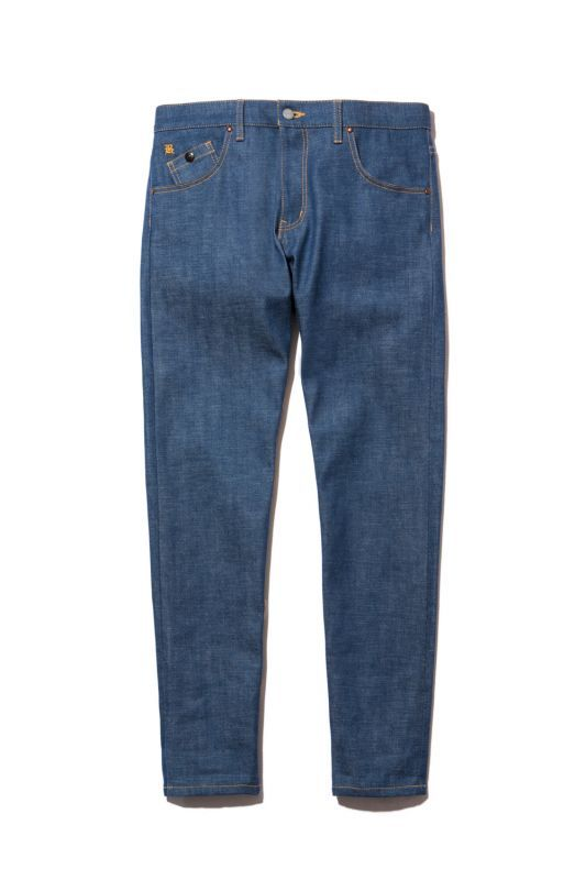 画像1: 【Back Channel】NON WASH STRETCH TAPERED DENIM (1)