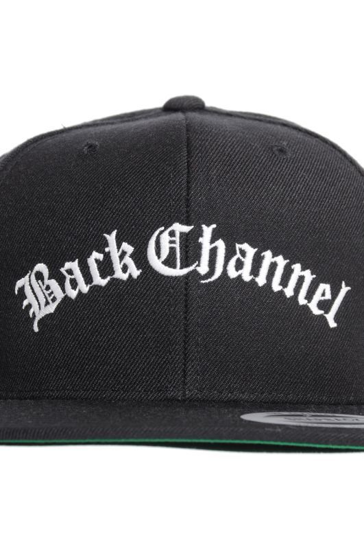 画像2: 【Back Channel】OLD ENGLISH LOGO SNAP BACK