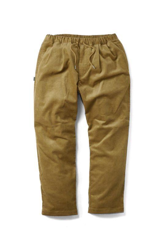 画像1: 【INTERBREED】Pleated Corduroy Relax Trouser