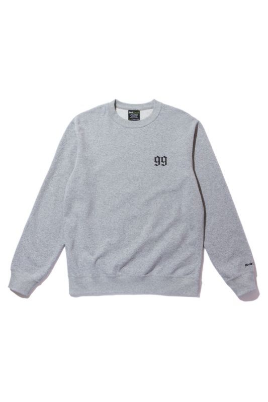 画像1: 【Back Channel】 OLD ENGLISH LOGO CREW SWEAT