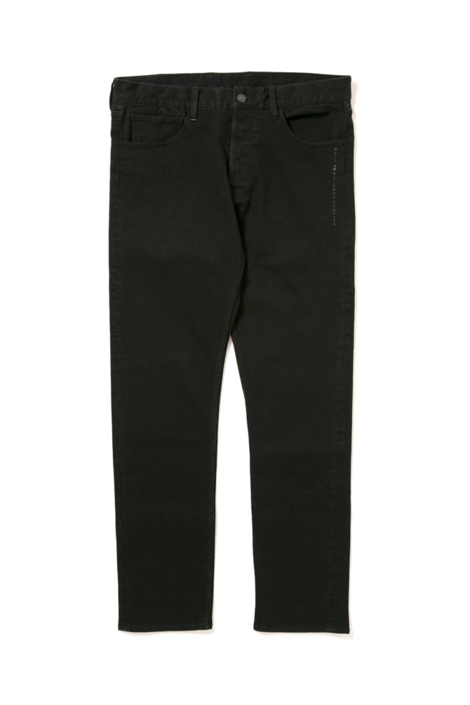 "画像1: 【APPLEBUM】""Kate"" Slim Stretch Black Denim Pants (1)"