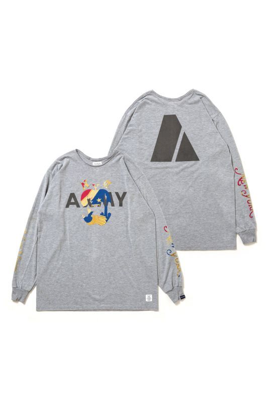 "画像1: 【APPLEBUM】PLAY for APPLEBUM ""NEW YORK CITY"" ARMY LONG SLEEVE"