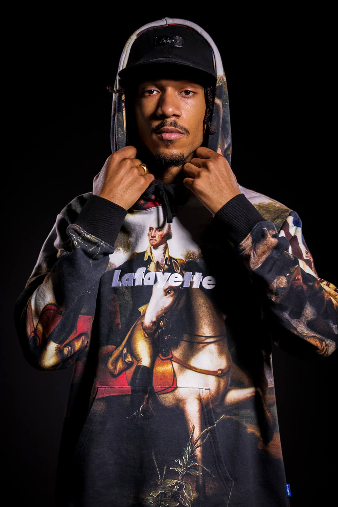 画像5: 【LAFAYETTE】HERO OF THE TWO WORLDS PULLOVER SWEATSHIRT