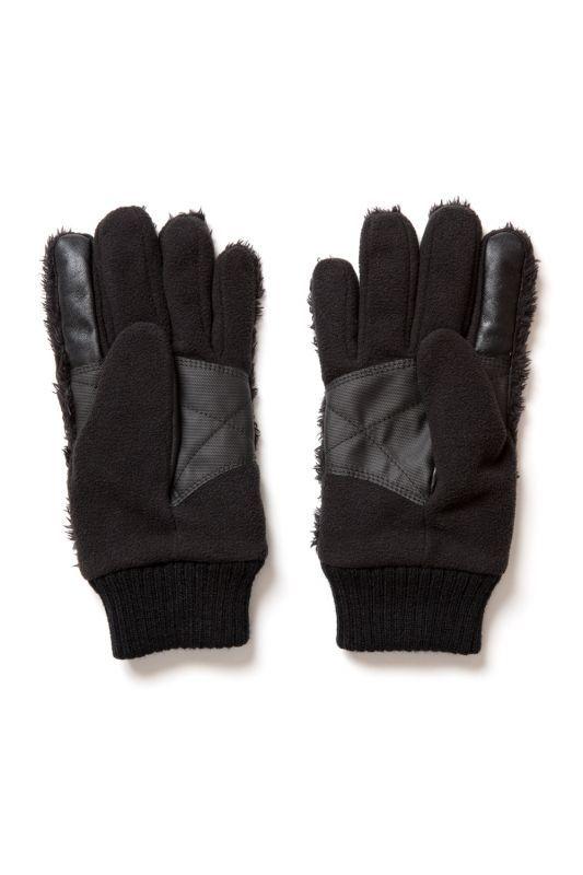 画像2: 【APPLEBUM】Fastener Boa Glove