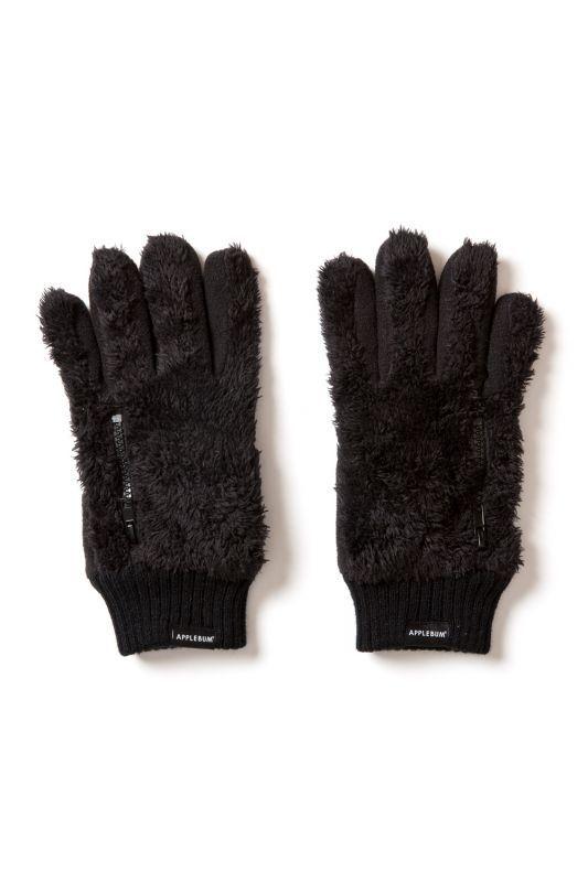 画像1: 【APPLEBUM】Fastener Boa Glove