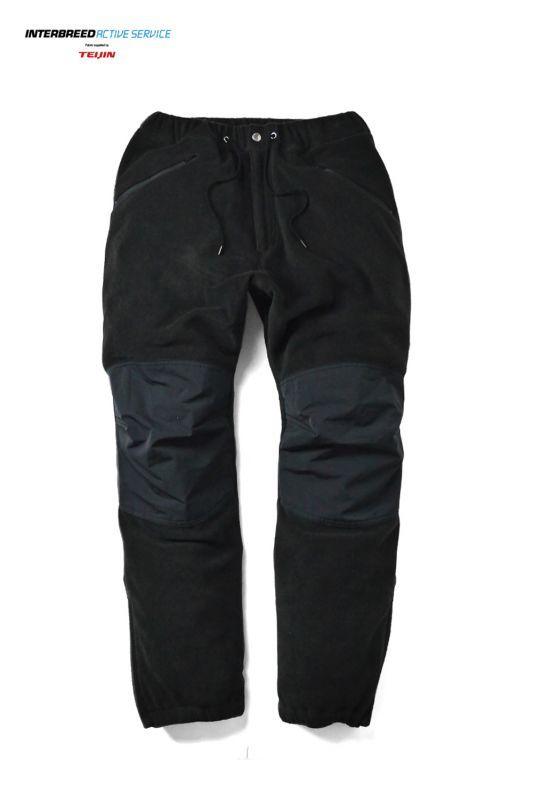 画像1: 【INTERBREED】Polar Region Fleece Pants