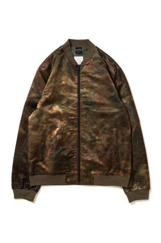 画像1: 【APPLEBUM】Olive Dyeing MA-1 Jacket