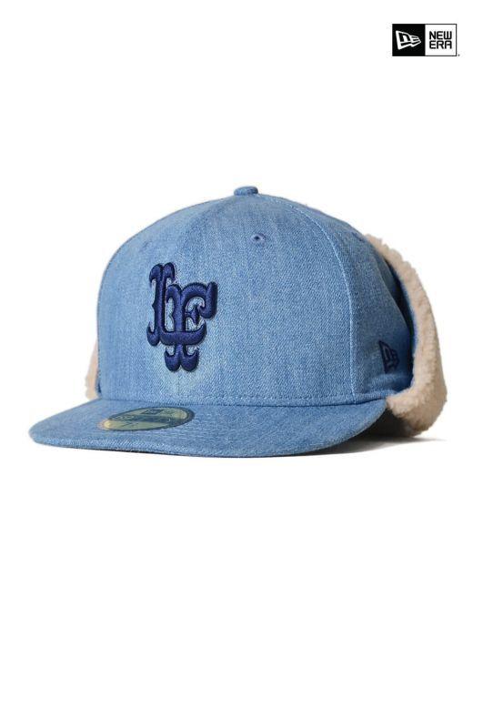 画像1: 【LAFAYETTE】Lafayette × NEW ERA LF LOGO DOG EAR 59FIFTY CAP