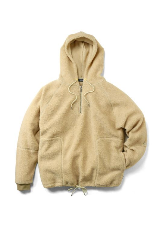 画像1: 【INTERBREED】Country Boa Fleece Hoodie