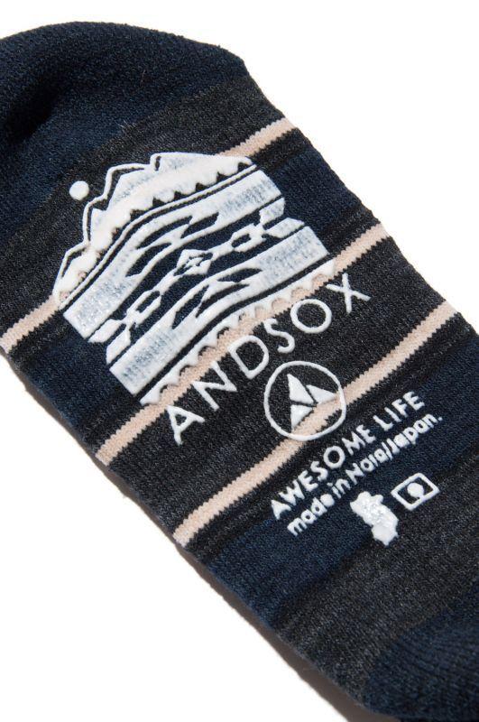 画像4: 【ANDSOX】PILE LONG -MEXCAN-