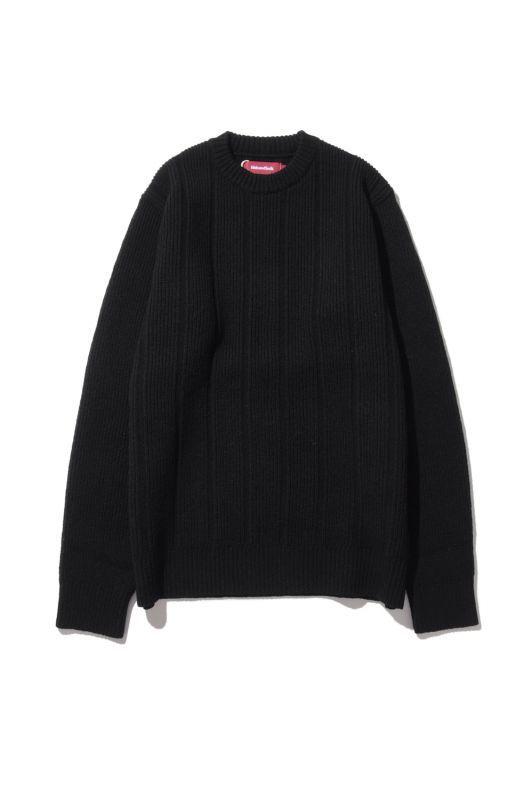 画像1: 【HIDEANDSEEK】Knit L/S Shirts (1)