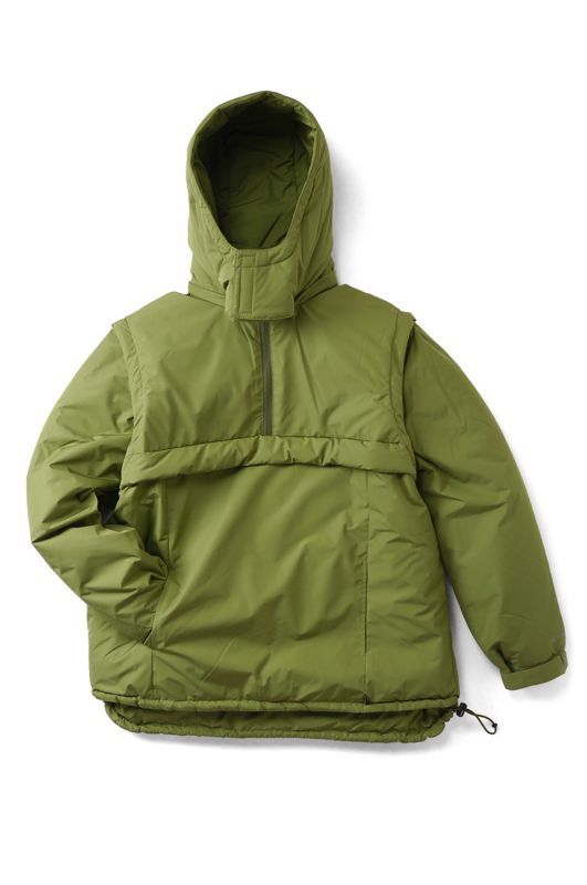 "画像1: 【INTERBREED】 ACTIVE SERVICE ""Convertible Puff Jacket"""