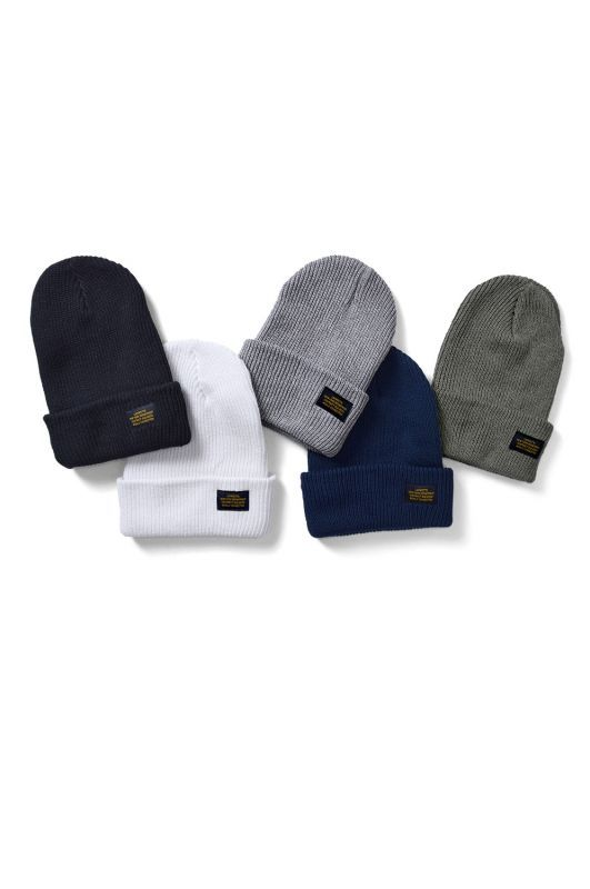 画像1: 【LAFAYETTE】MILITARY COTTON WATCH CAP