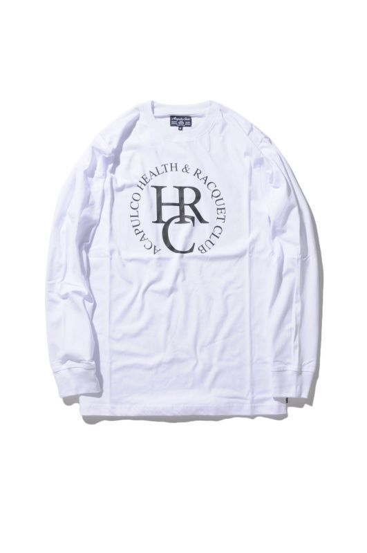 画像1: 【ACAPULCO GOLD】HEALTH & RQCQUET LONG SLEEVE TEE