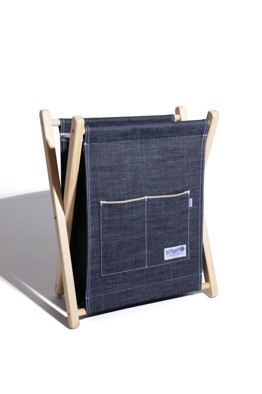 "画像1: 【INTERBREED】Selvedge Supply ""Indigo Magazine Rack"""