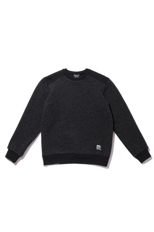画像1: 【Back Channel】WOOL CREW SWEAT (1)