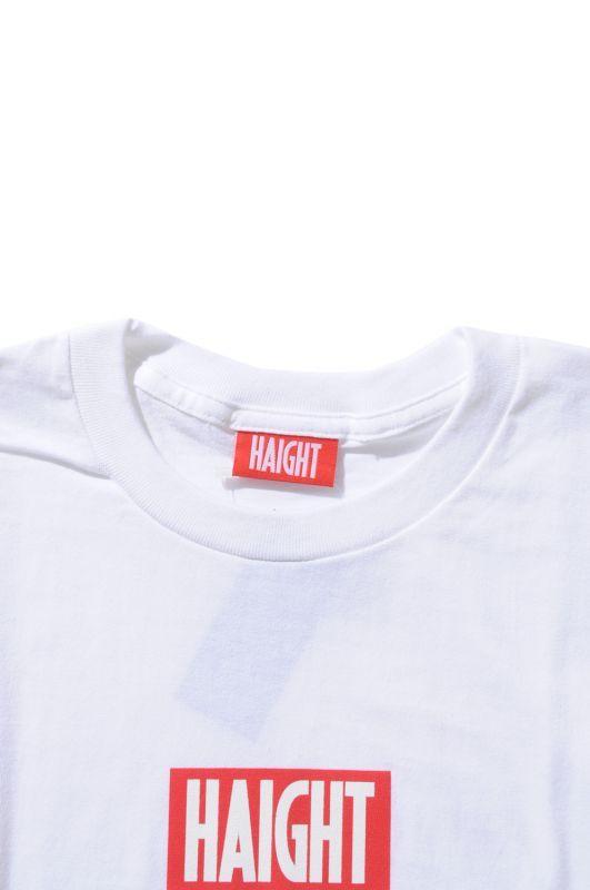 画像4: 【HAIGHT】Box Logo Tee