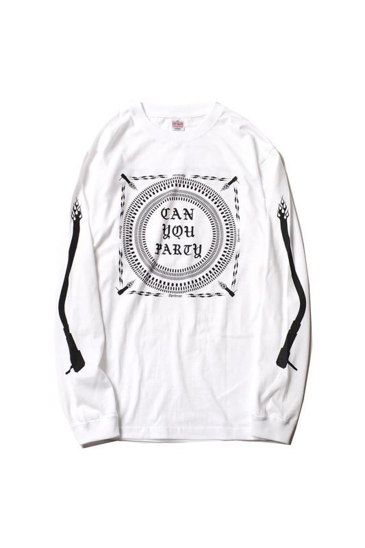 画像1: 【CUTRATE】CAN YOU PARTY L/S T-SHIRT (1)
