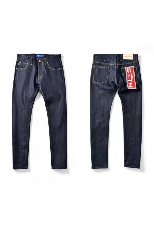 画像1: 【LAFAYETTE】5 POCKET SELVAGE STRETCH DENIM PANTS – SLIM FIT