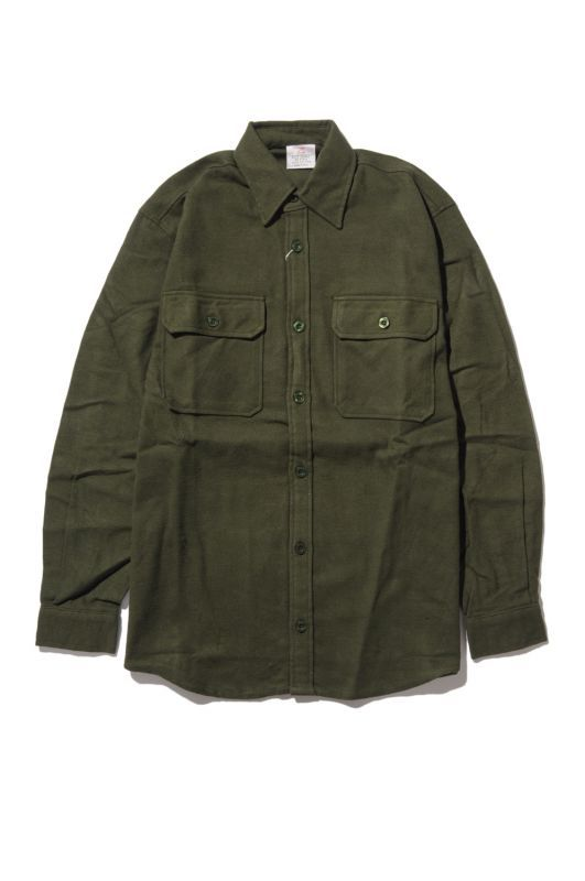 画像1: 【ROTHCO】HEAVYWEIGHT SOLID FLANNEL SHIRT (1)