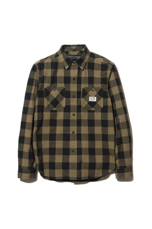 画像1: 【Back Channel】BLOCK CHECK SHIRT (1)
