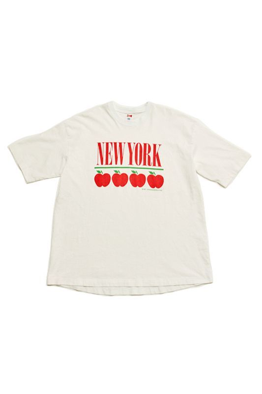 画像1: 【VOTE MAKE NEW CLOTHES】APPLE NEW YORK SOUVENIR77 TEE (1)