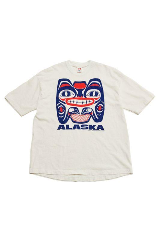 画像1: 【VOTE MAKE NEW CLOTHES】 ALASKA SOUVENIR77 TEE (1)